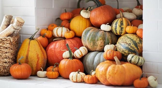 12 calabazas decoradas para Halloween (y una piña)