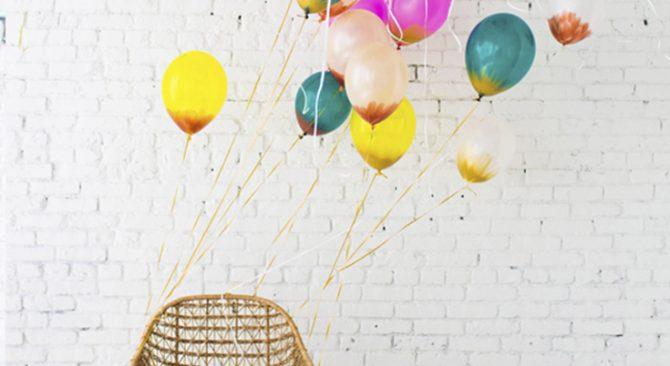 7 formas de decorar globos para una fiesta