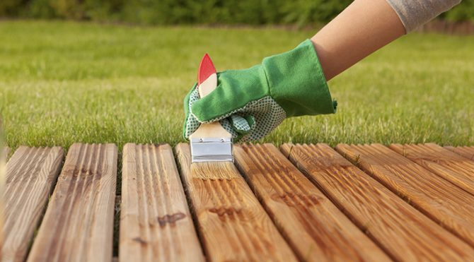 Cómo proteger la madera en exterior