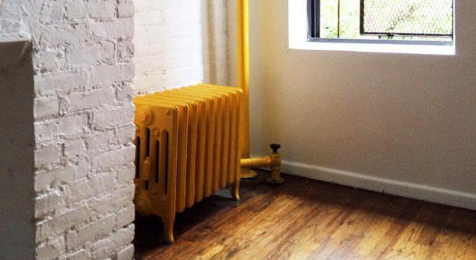 Radiadores pintados y tuberías con tanto estilo como tu casa