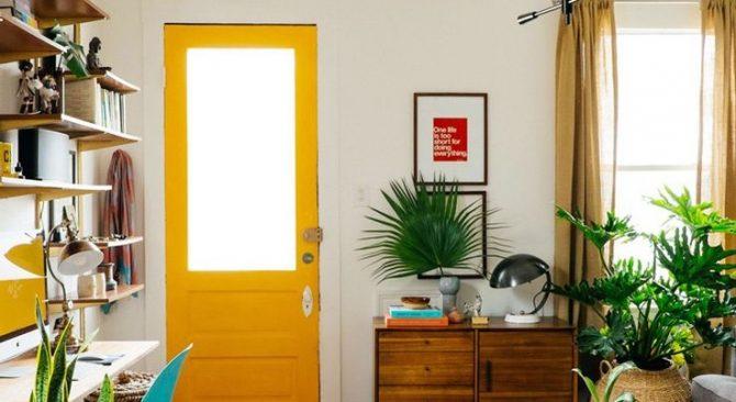 7 formas de mejorar tus puertas interiores con pintura