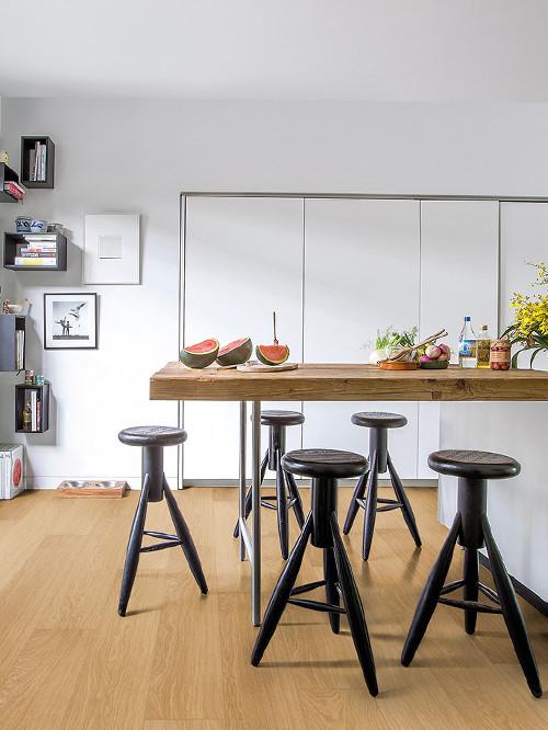 suelos laminados para cocinas y baos sin correr riesgos