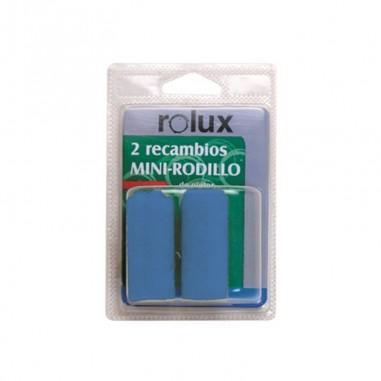 2 recambios Mini Pintar Hierros y Plásticos Rolux 6 cm