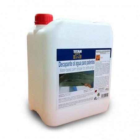 Decapante al agua para patentes Titan Yate