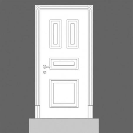 Panel para puertas D504 Orac Decor