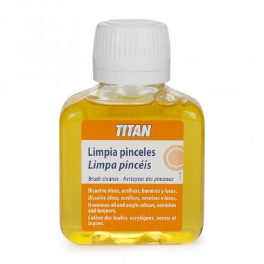 Limpia pinceles Titan