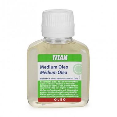 Medium óleo Titan