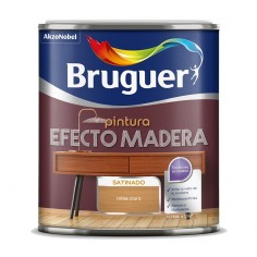 Pintura efecto madera Bruguer