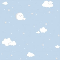 Papel pintado nubes 019CAN Candy Decoas