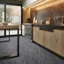 Comfort Plaza | Oak Chevron 009D