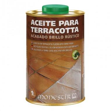 Aceite para terracota   Brillo