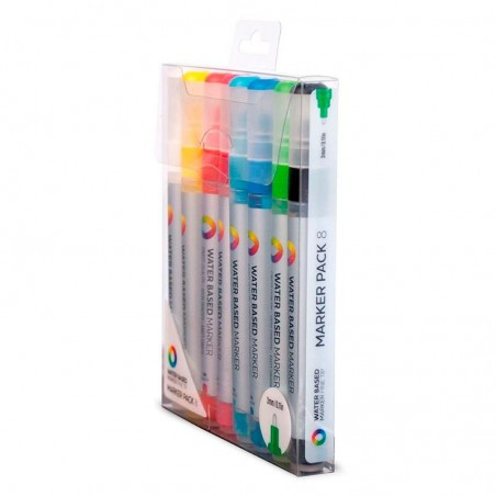 Pack 8 Water Based Markers 3 mm Montana