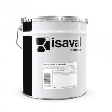 Fijador al disolvente Fixacril Isaval