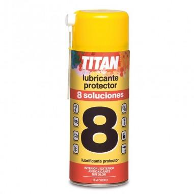 Lubricante protector 8 soluciones Titan