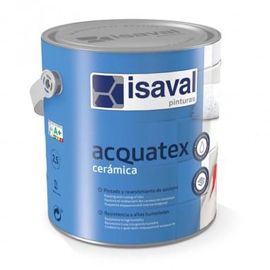 Esmalte para azulejos Acquatex cerámica Isaval