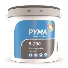 Pintura plástica satinada B-200 Pyma