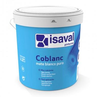 Pintura plástica mate Coblanc Isaval