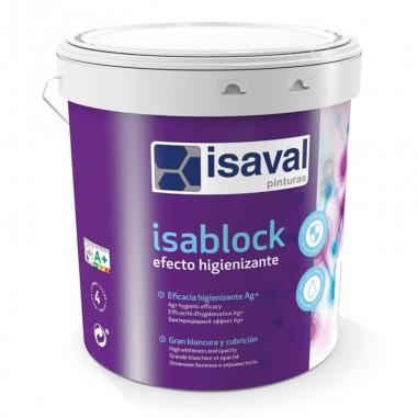Pintura efecto higienizante Isablock Isaval