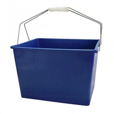 Cubeta con rejilla de plástico 14 litros
