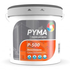 Revestimiento liso fachadas P-500 Cyma Pyma