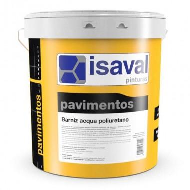 Barniz acqua poliuretano suelos Isaval