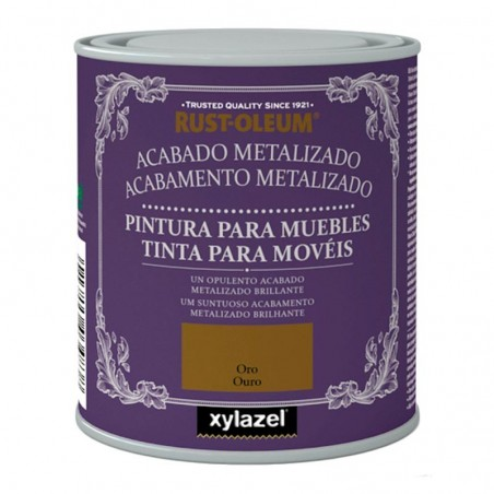 Xylazel Pintura muebles acabado metalizado