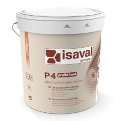 Pintura plástica interior exterior P4 Profesional Isaval