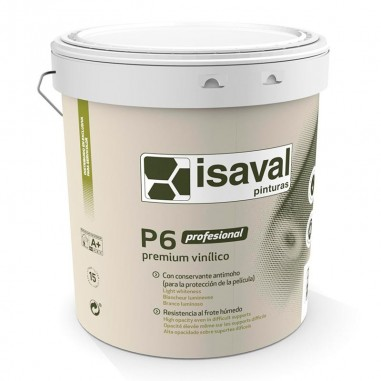 Plástico vinílico P6 profesional Isaval
