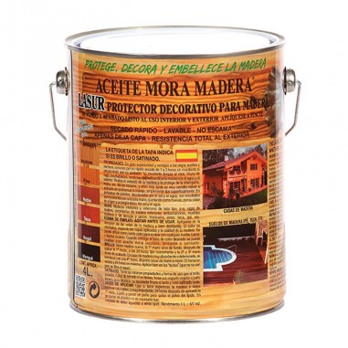 Aceite Mora Madera