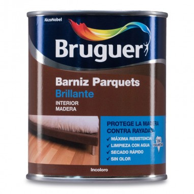 Barniz parquet brillante Bruguer