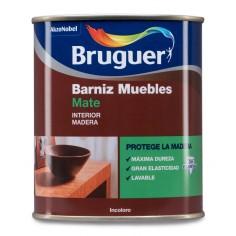 Barniz muebles mate Bruguer
