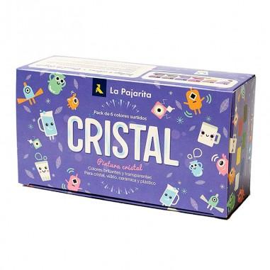 Pack pintura cristal La Pajarita