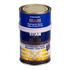 Barniz poliuretano + acrílico (satinado) Titan Yate