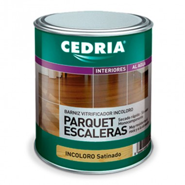 Cedria Barniz Parquet Escaleras