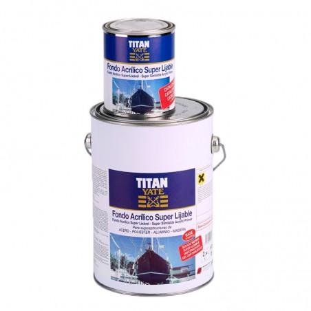 Fondo acrílico super lijable Titan Yate