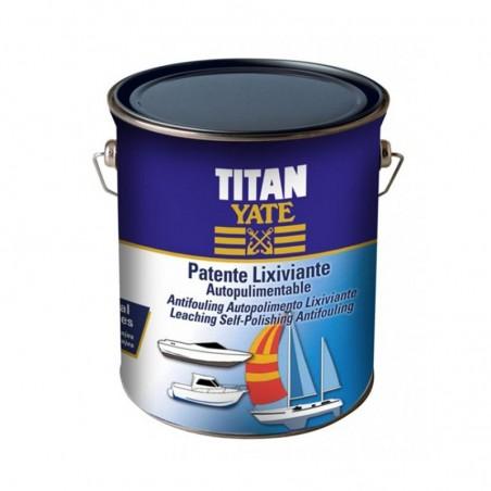 Patente autopulimentable lixiviante Titan Yate