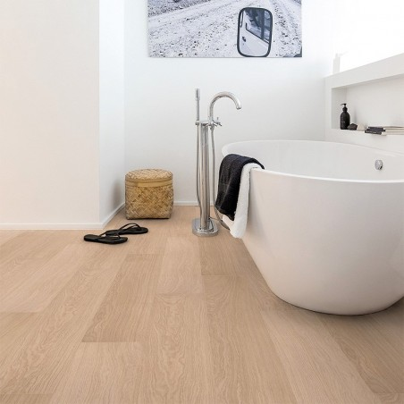 Quick-Step Impressive Ultra | Roble barnizado blanco