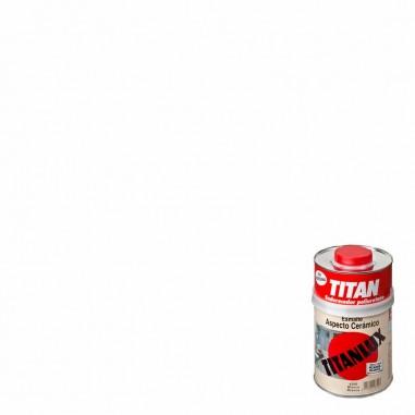 Esmalte cerámico Titanlux | Blanco brillante