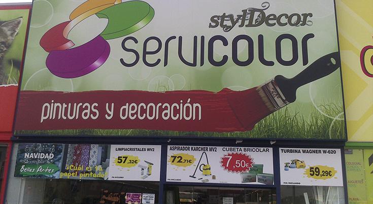 Servicolor Ondara (centro comercial) | Pinturas y Decoración