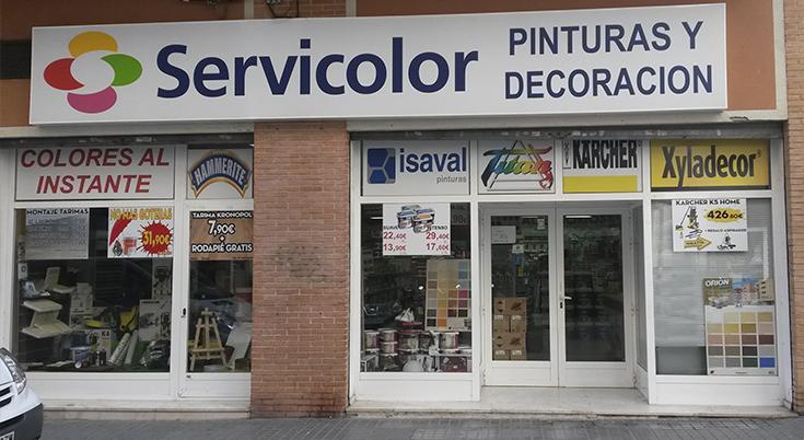 Servicolor Villajoyosa | Pinturas y Decoración