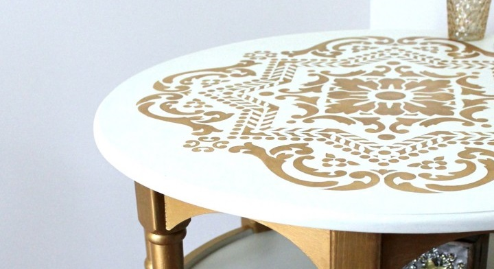 DIY: Tutorial de estarcido para personalizar muebles