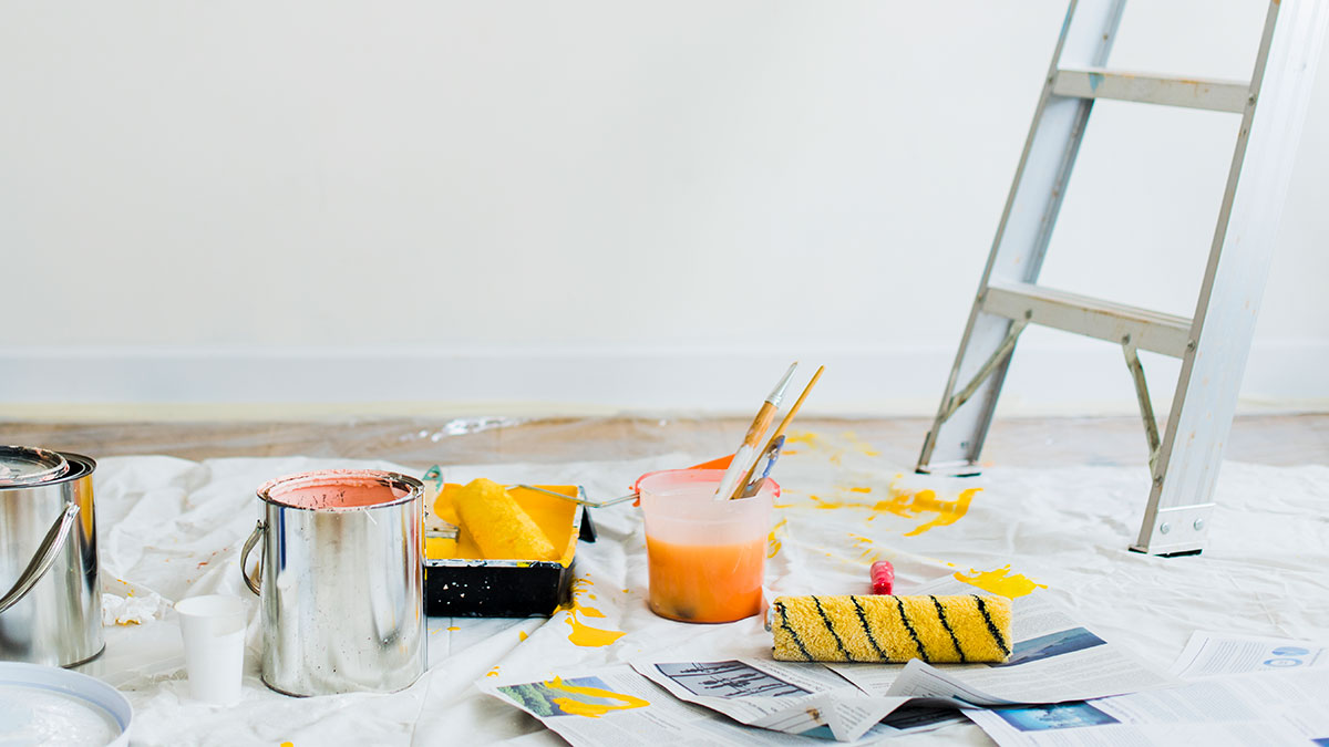 10 trucos sencillos para pintar sin manchar